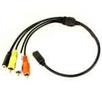 10Pin Sony Lanc Adaptor Cable (With Audio&Video)