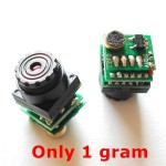 1 Gram 520 TVL Nano Camera with Audio
