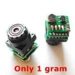 1 Gram 520 TVL Nano Camera with Audio